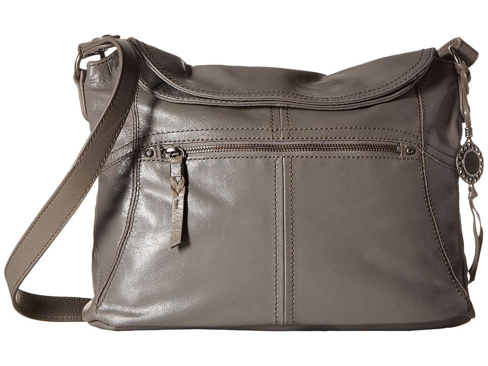 The Sak - Esperato Flap Hobo (Slate) Hobo Handbags