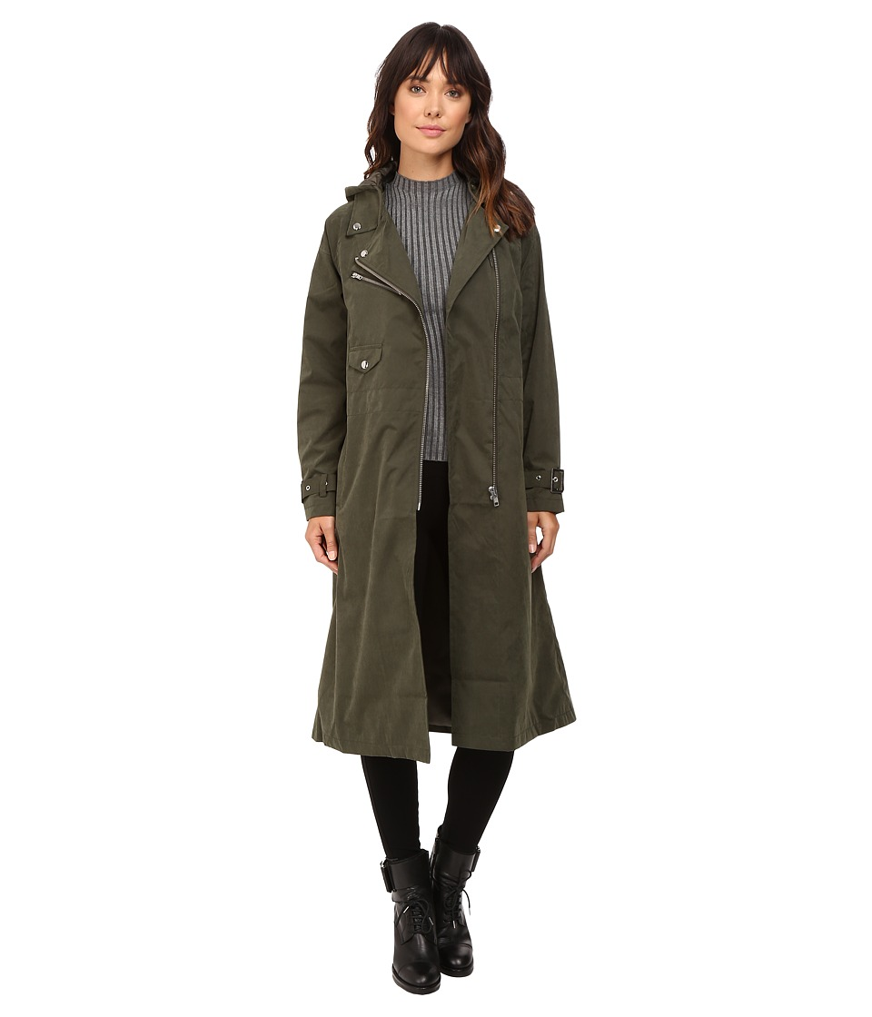 Obey - Easy Rider Trench Coat (Forest Army) Women's Coat