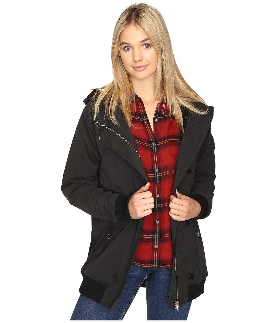Obey - Stryker Jacket (Black) Women's Coat