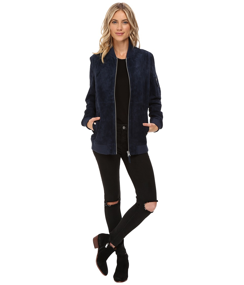 Obey - Nomads Jacket (Navy) Women's Coat