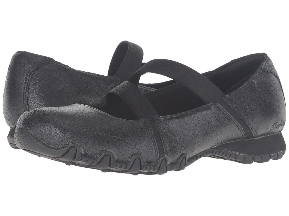 SKECHERS - Modern Comfort Bikers Fiesta (Black) Women's Maryjane Shoes
