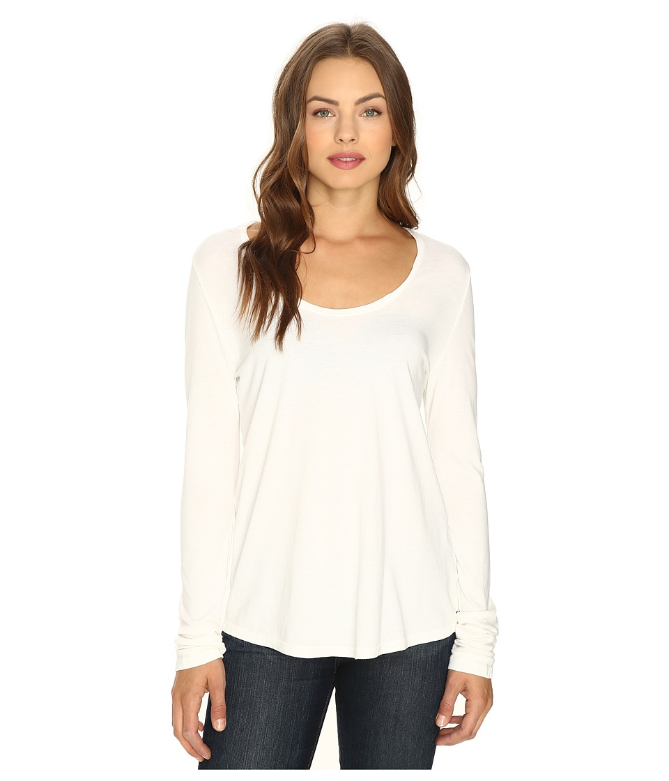 Obey - Haley Long Sleeve (Dusty Off-White) Women's Clothing