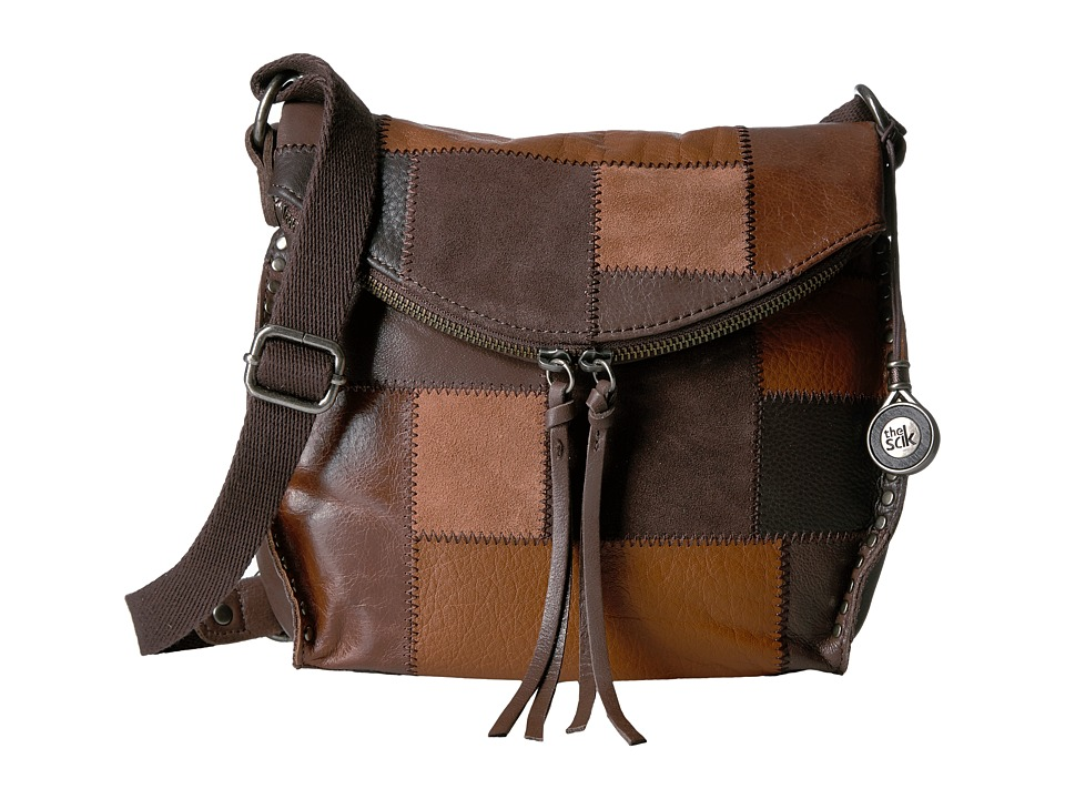 The Sak - Silverlake Crossbody (Brown Patch) Cross Body Handbags