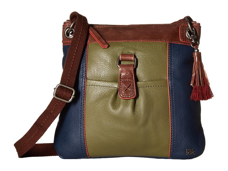 The Sak - Kendra Leather Crossbody (Martini Block) Cross Body Handbags