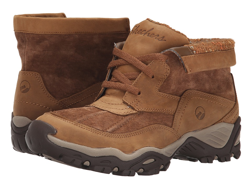 SKECHERS - Modern Comfort Peaks (Brown) Women's Shoes