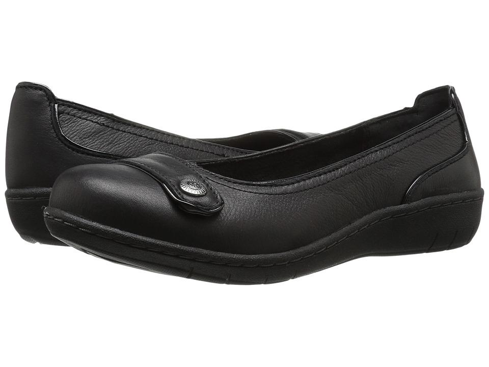 SKECHERS - Washington Walla Walla (Black) Women's Slip on Shoes