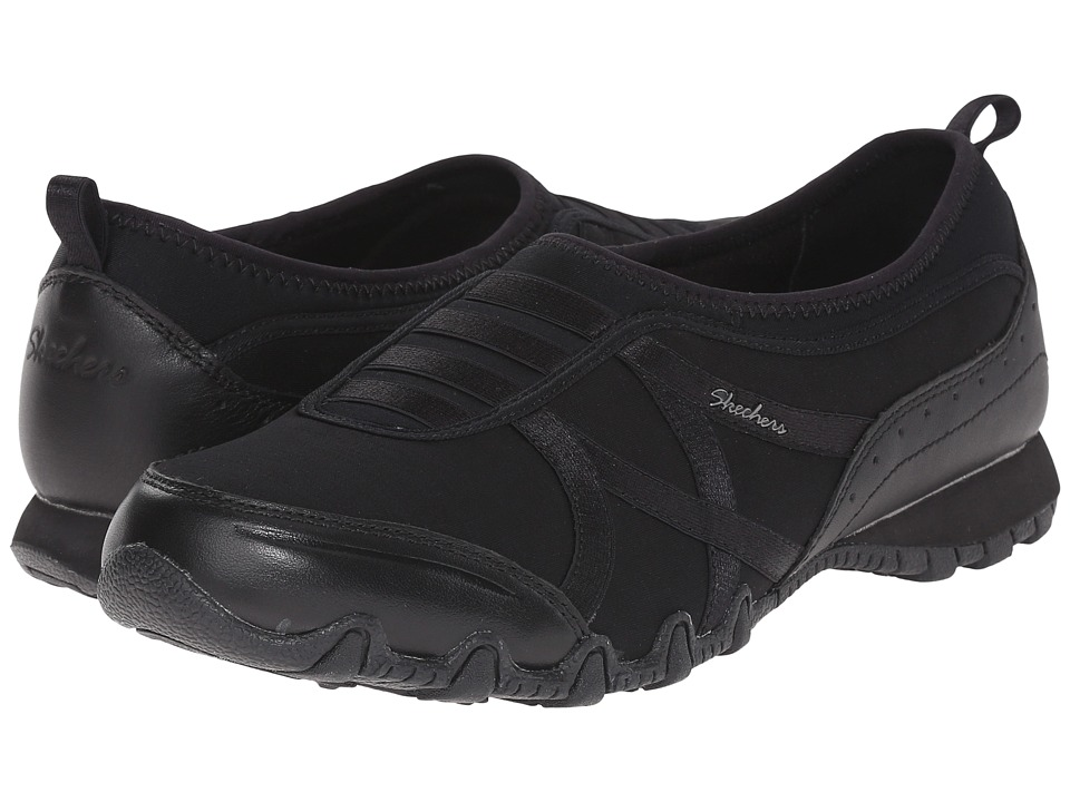 SKECHERS - Modern Comfort Bikers Satin Dream (Black) Women's Shoes