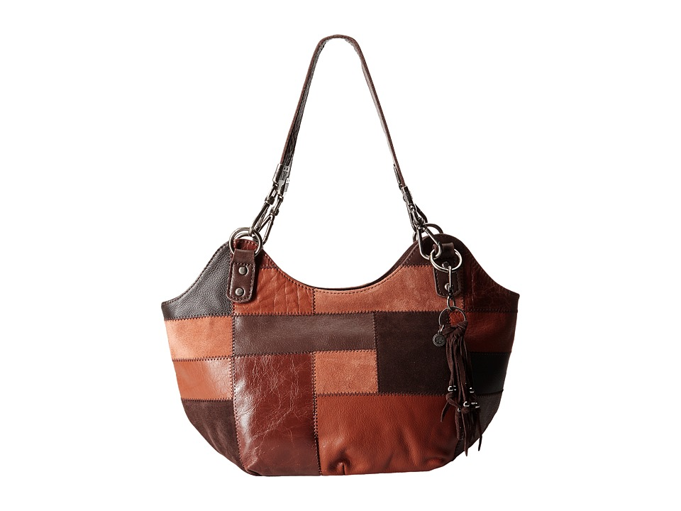 The Sak - Indio Satchel (Brown Patch) Shoulder Handbags
