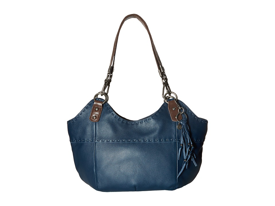 The Sak - Indio Satchel (Indigo) Shoulder Handbags