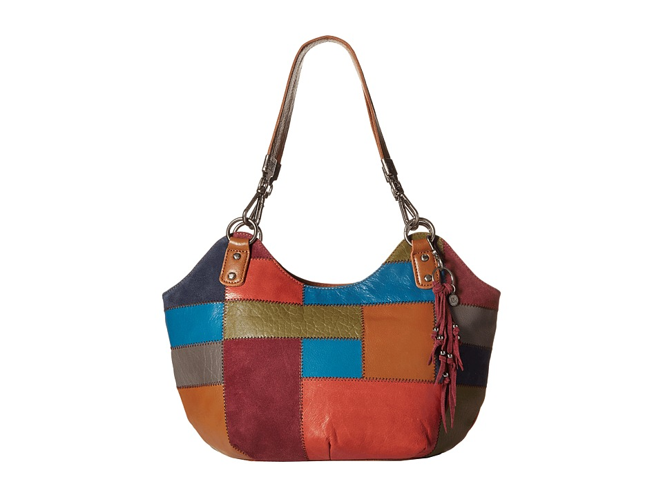 The Sak - Indio Satchel (Multi Patch) Shoulder Handbags