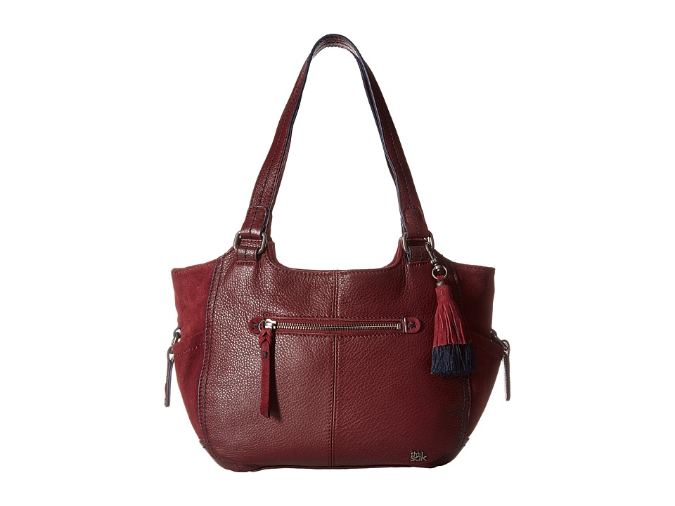 The Sak - Kendra Satchel (Cabernet Block) Shoulder Handbags