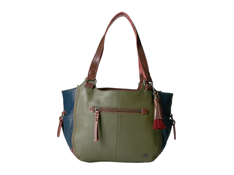 The Sak - Kendra Satchel (Martini Block) Shoulder Handbags