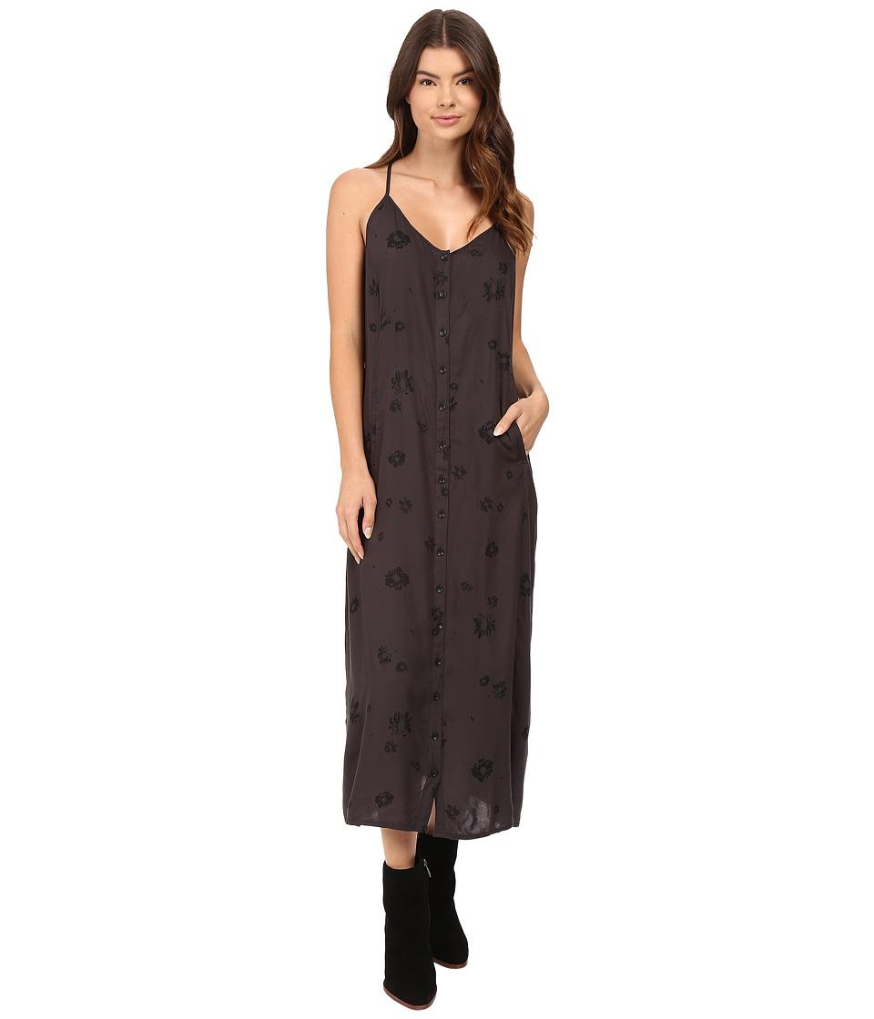Obey - Tyler Midi Dress (Black Multi) Women's Dress