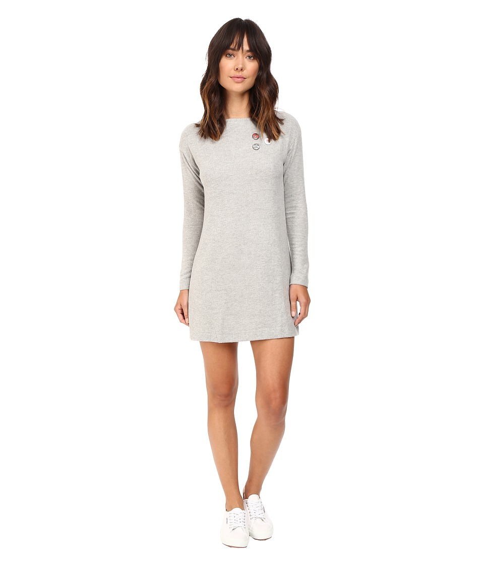 Obey - Pin-Up Sarra Dress (Heather Grey) Women's Dress