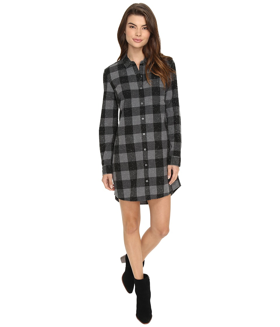 Obey - Bex Shirtdress (Charcoal Multi) Women's Dress