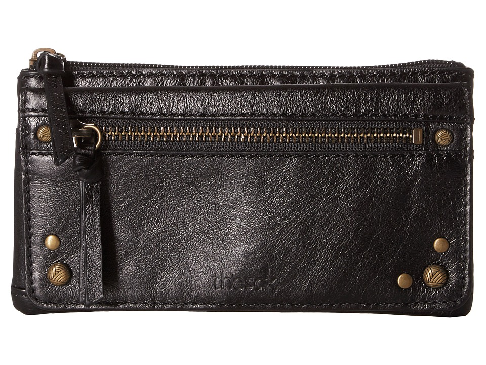 The Sak - Sanibel Flap Wallet (Black Onyx) Wallet Handbags