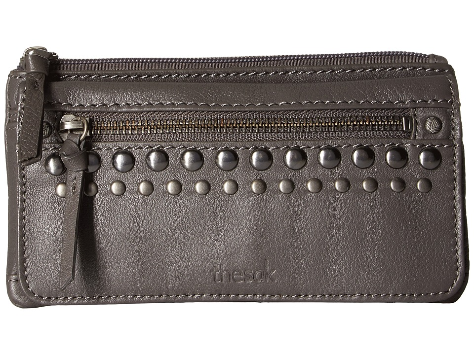 The Sak - Sanibel Flap Wallet (Slate Studs) Wallet Handbags