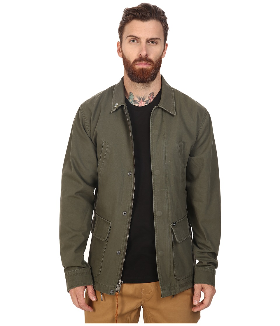 Obey - Hoboken Jacket (Army) Men's Coat