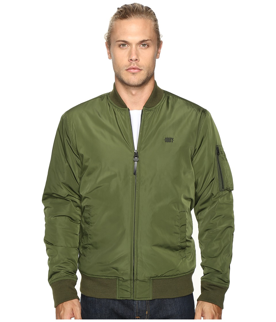 Obey - Alden Jacket (Army) Men's Coat