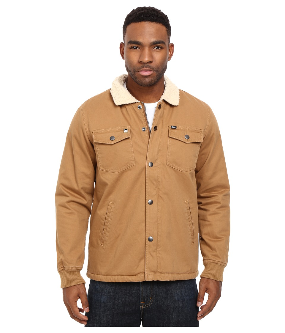 Obey - Colton Jacket (Tobacco Brown) Men's Coat