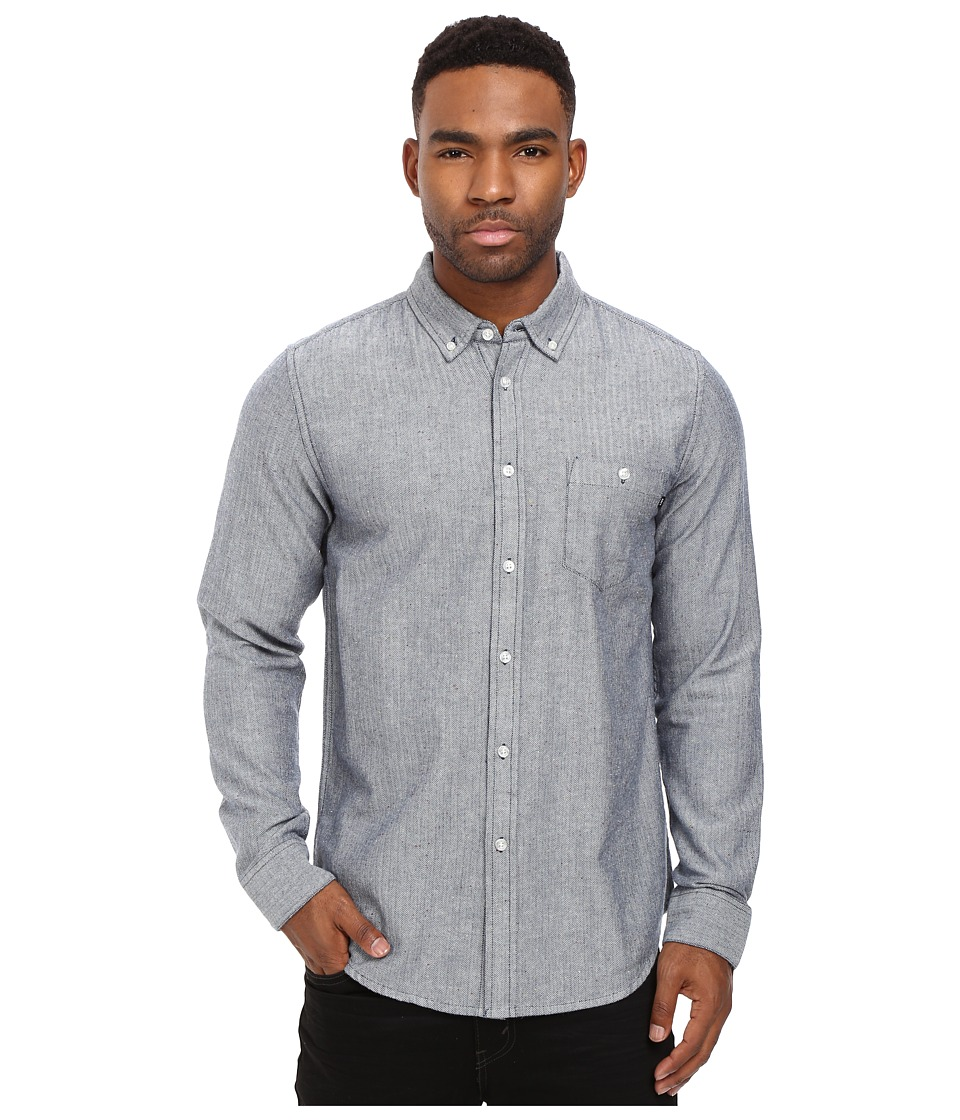 Obey - Wiseman Woven (Navy Multi) Men's Clothing