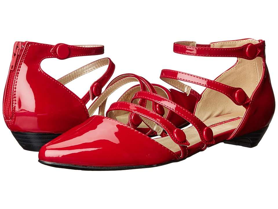 C Label - Hudson-34 (Red) Women's Shoes