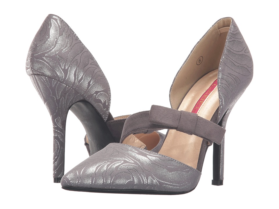 C Label - Luxe-40 (Grey) High Heels