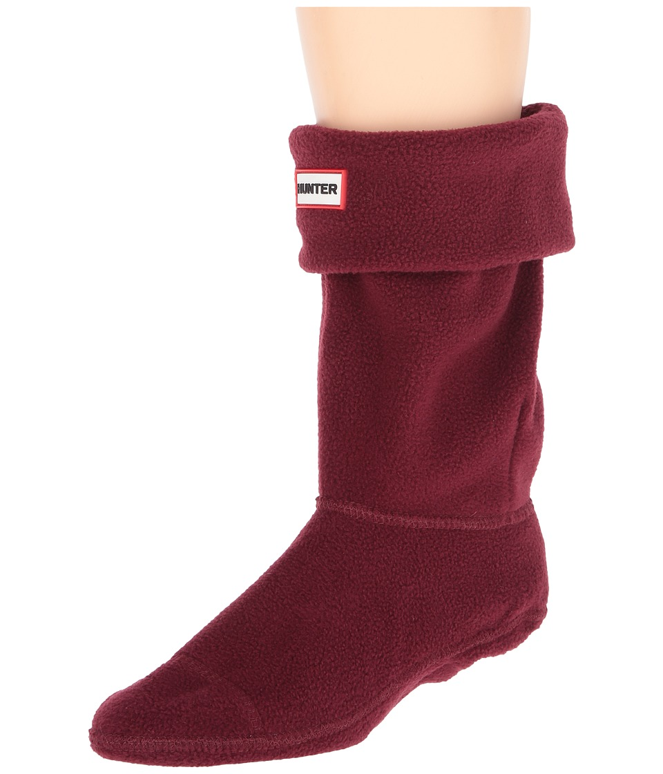 Hunter - Short Boot Socks (Dulse) Women's Crew Cut Socks Shoes