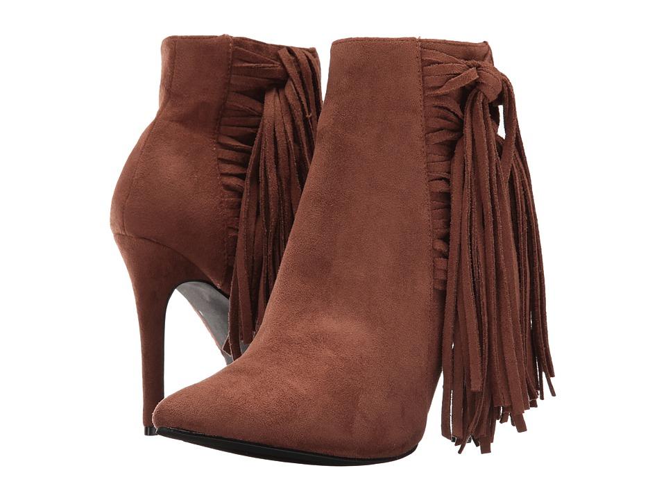 C Label - Ariza-10 (Brown) Women's Boots