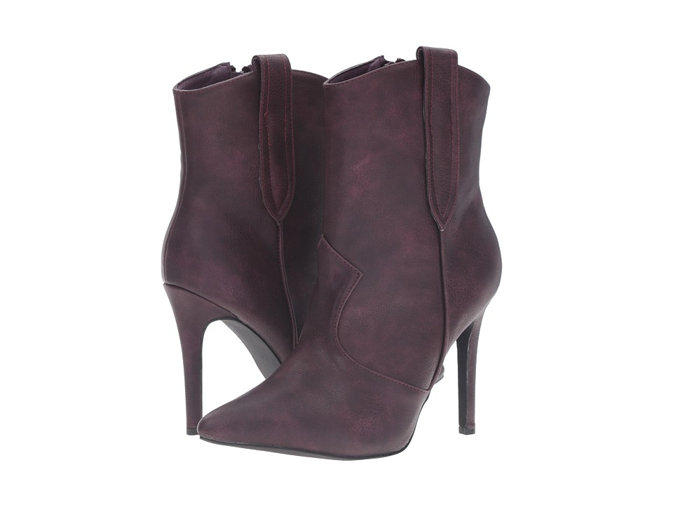 C Label - Ariza-11 (Purple) Women's Boots