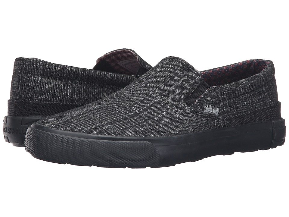 Ben Sherman - Pete Slip-On (Black) Men's Slip on Shoes
