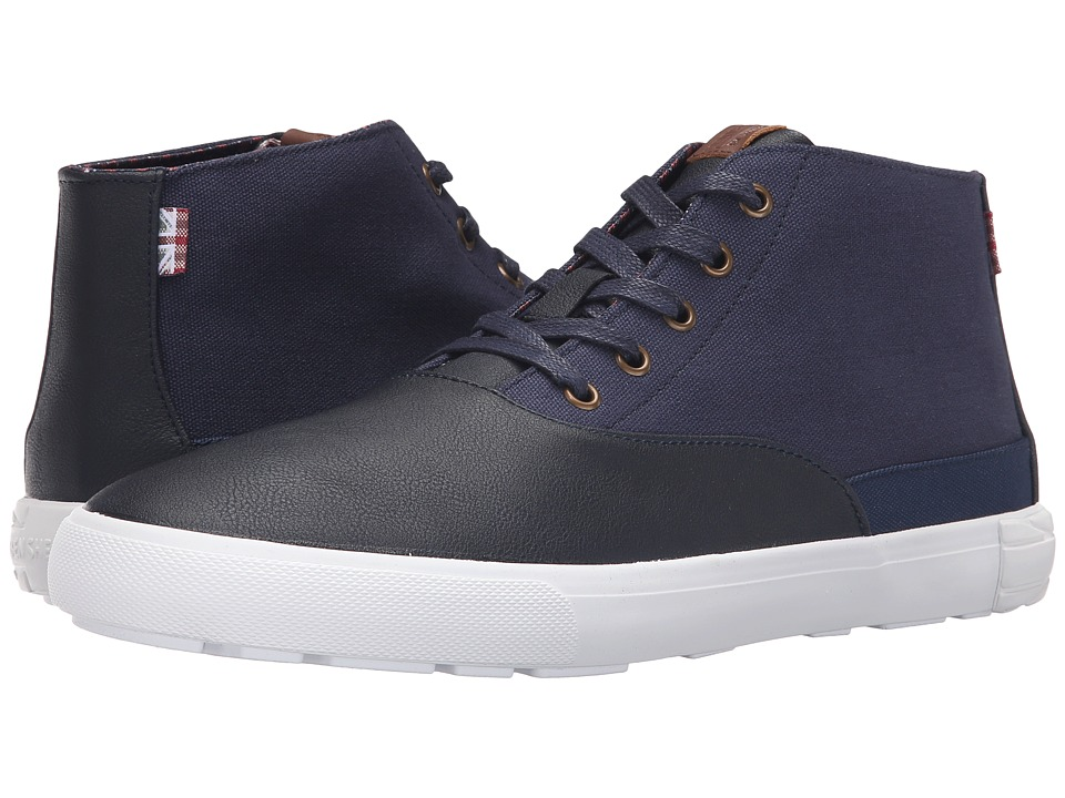 Ben Sherman - Pete (Navy) Men's Lace-up Boots