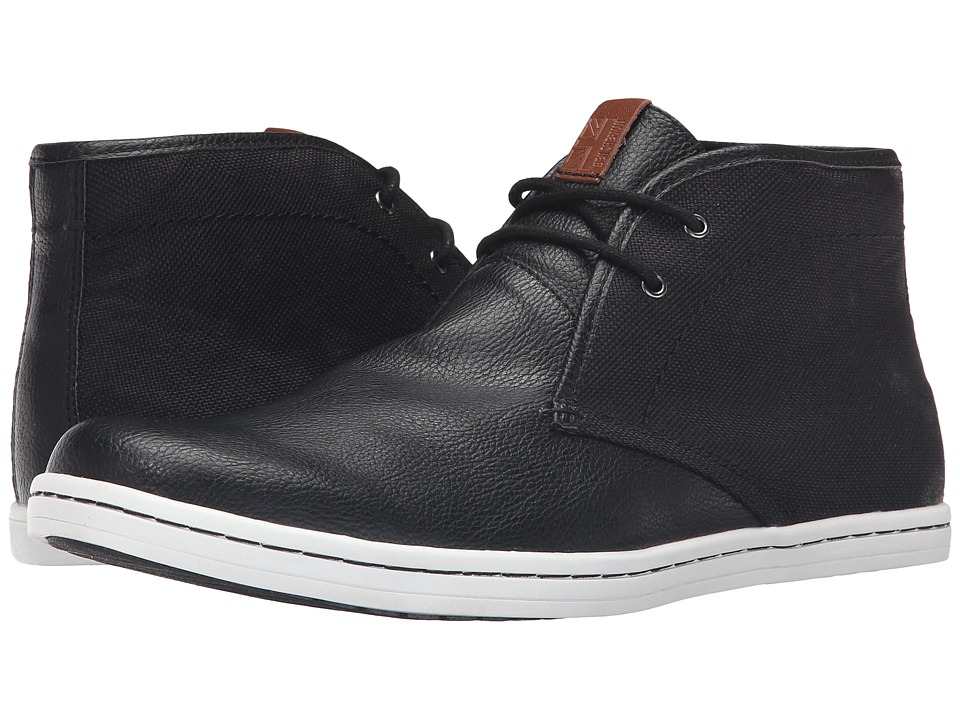Ben Sherman - Vince (Jet Black) Men's Lace-up Boots