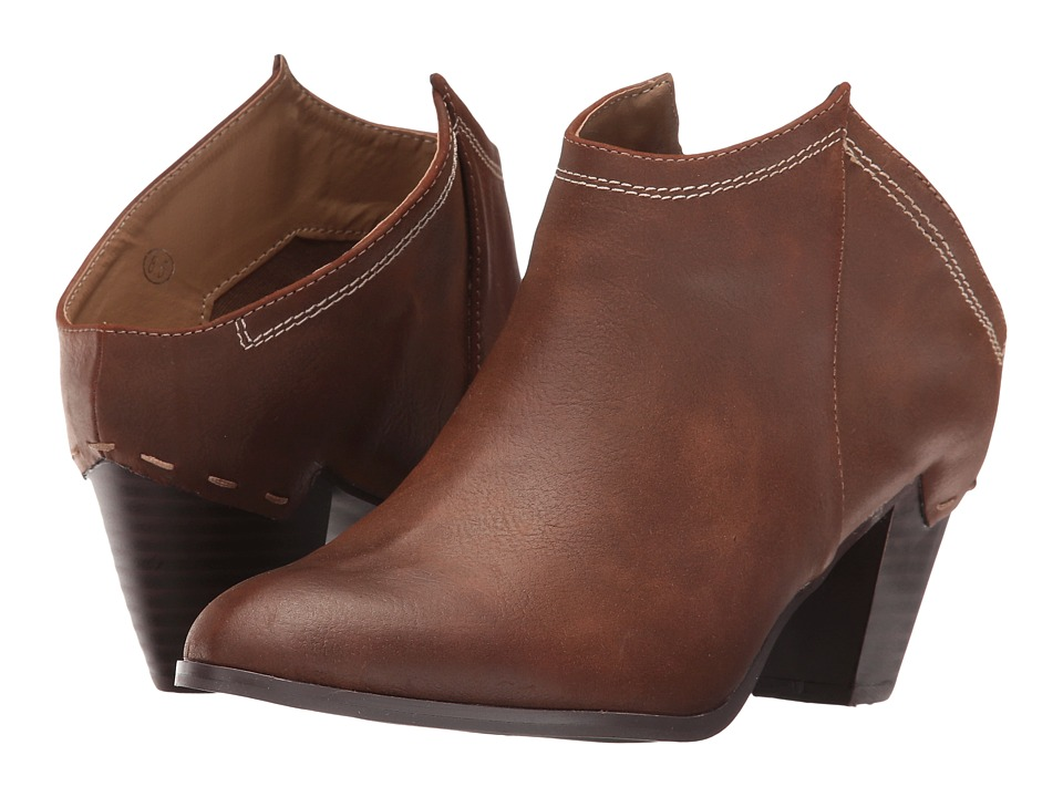 C Label - Elton-6 (Dark Brown) Women's Boots