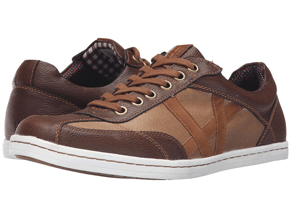 Ben Sherman - Lox T Toe (Brown) Men's Lace up casual Shoes