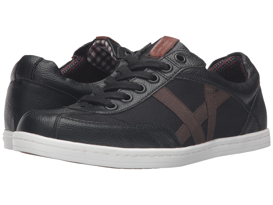 Ben Sherman - Lox T Toe (Black) Men's Lace up casual Shoes