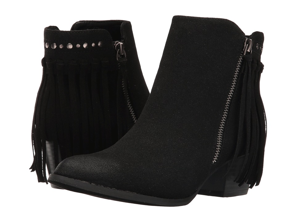 C Label - Hannah-12 (Black) Women's Zip Boots