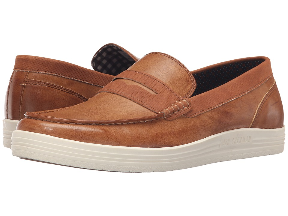 Ben Sherman - Payton Loafer (Tan) Men's Slip on Shoes