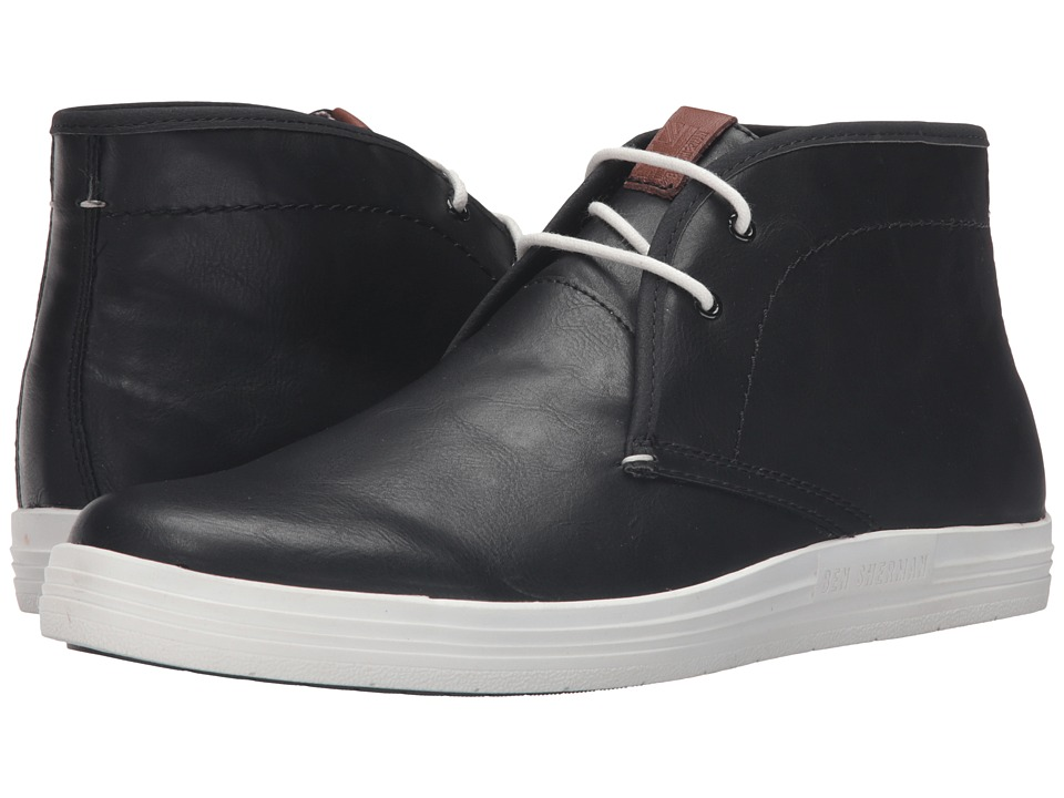 Ben Sherman - Vance (Black) Men's Lace-up Boots
