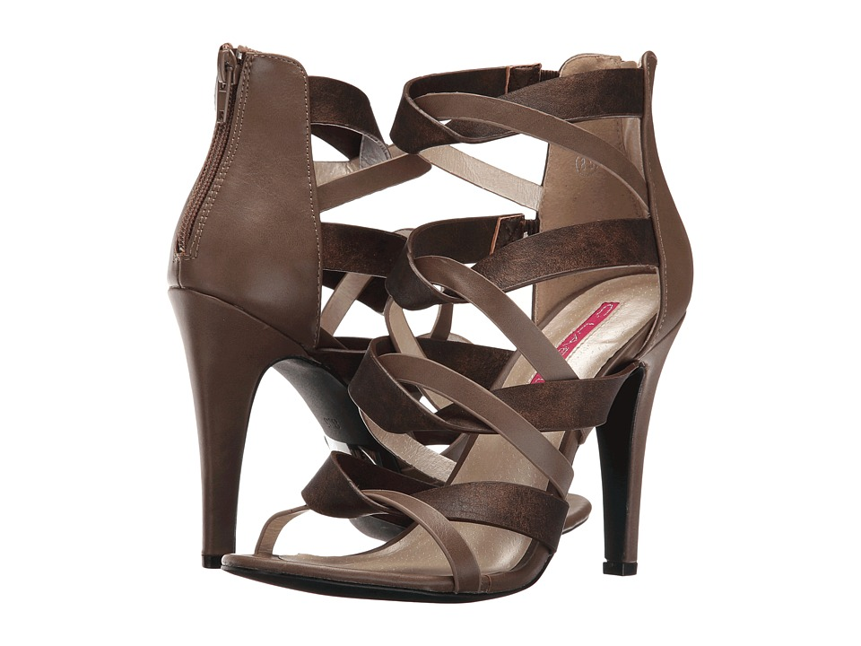 C Label - Detroit-12 (Taupe) High Heels