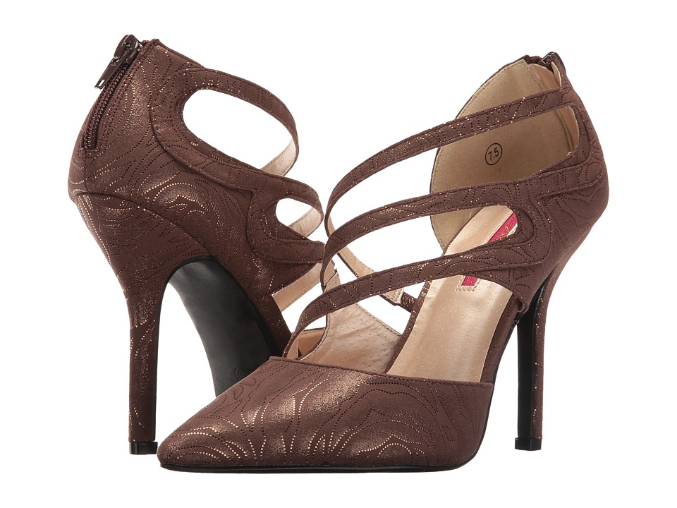 C Label Luxe-38 (Bronze) High Heels