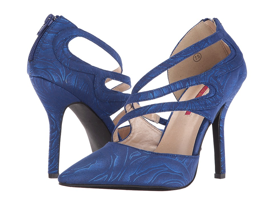 C Label Luxe-38 (Royal Blue) High Heels