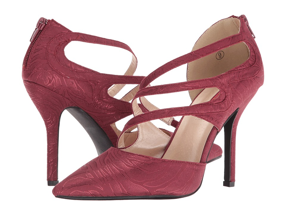 C Label Luxe-38 (Wine) High Heels