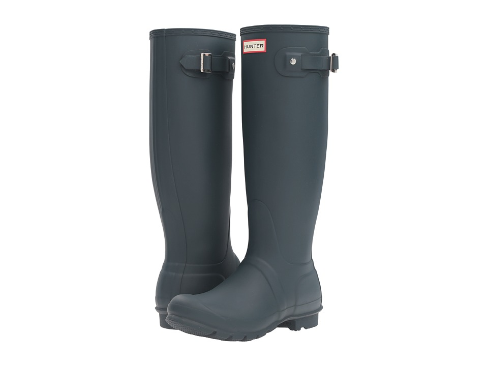 Hunter - Original Tall (Ocean) Women's Rain Boots