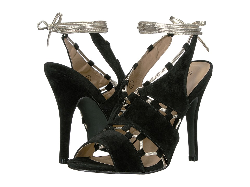 C Label Milan-26 (Black) High Heels
