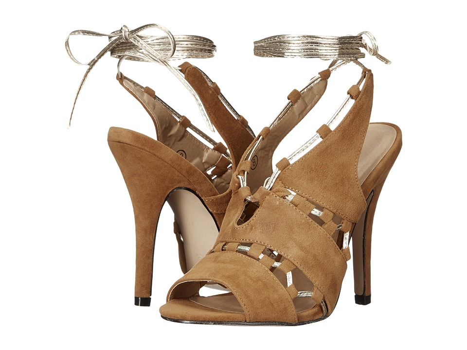 C Label Milan-26 (Camel) High Heels