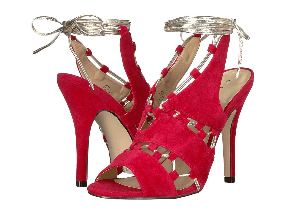 C Label Milan-26 (Red) High Heels