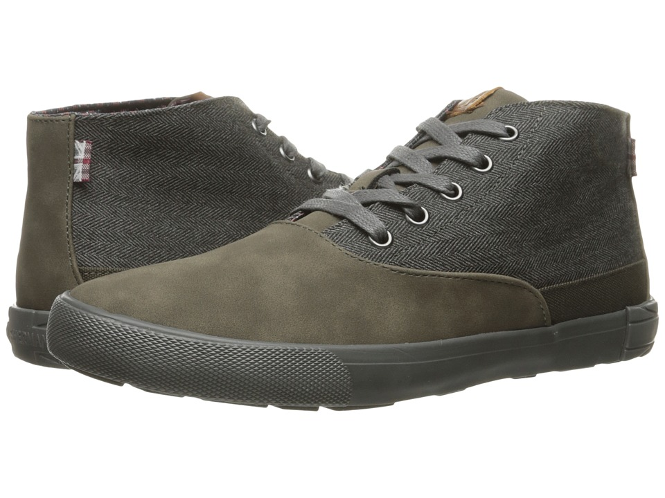 Ben Sherman - Pete (Heather Grey) Men's Lace-up Boots