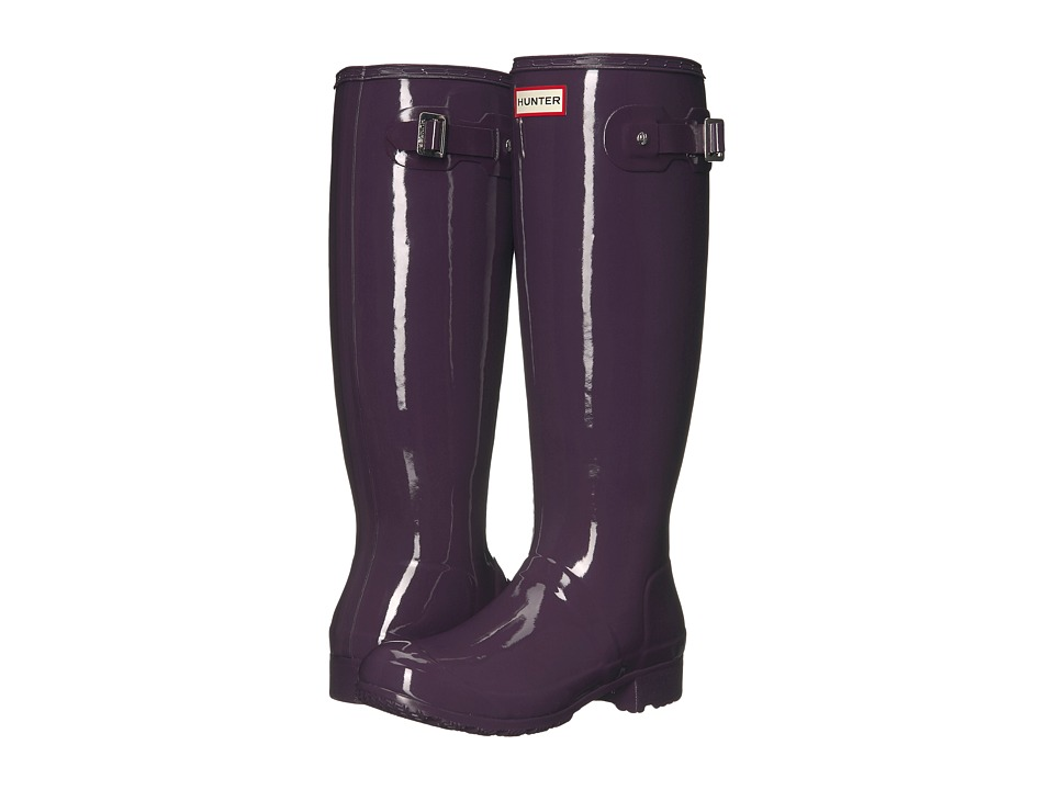 Hunter - Original Tour Gloss (Purple Urchin) Women's Rain Boots