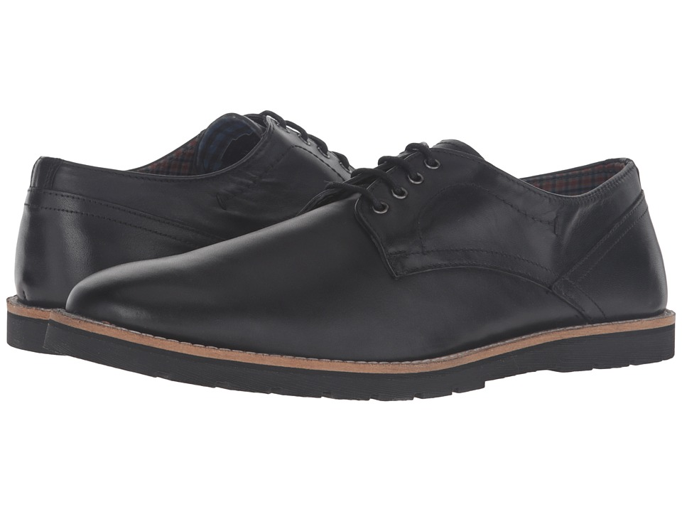 Ben Sherman - Ben Derby (Jet Black) Men's Lace up casual Shoes